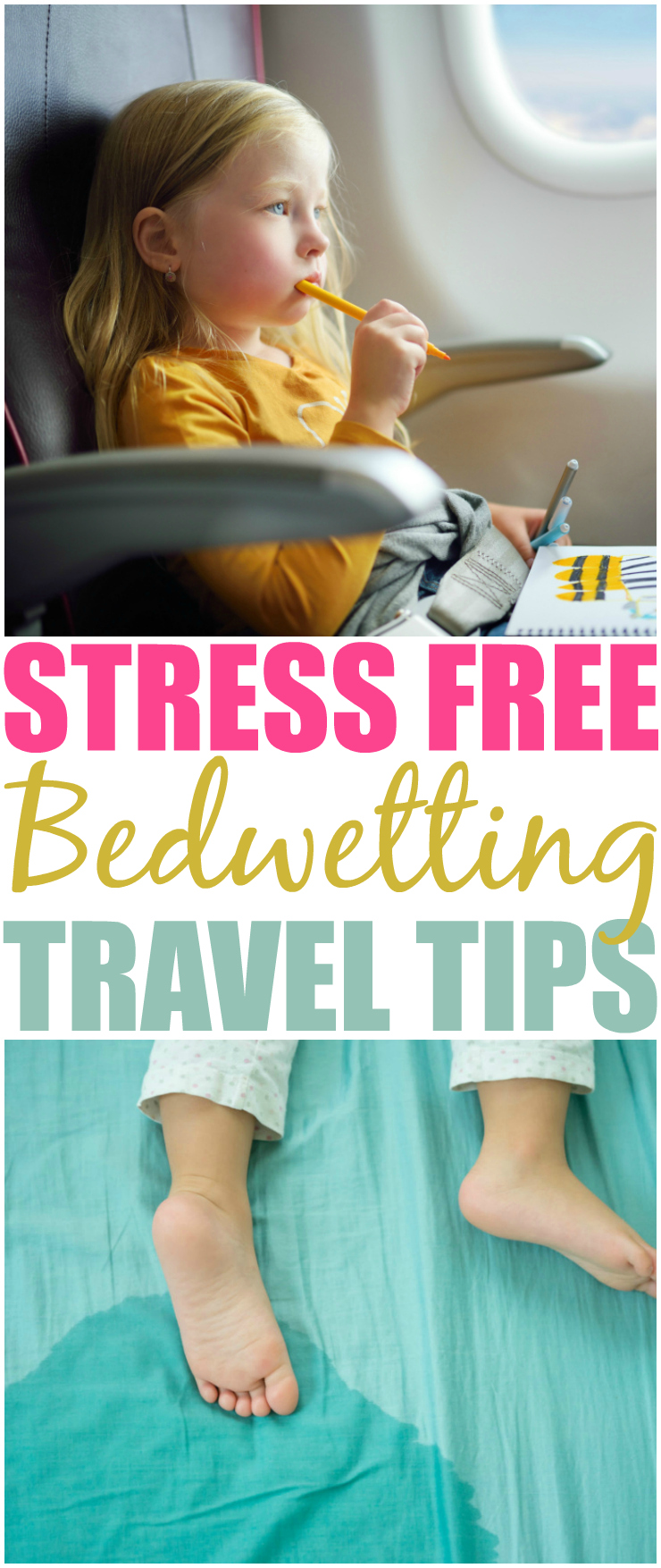 Have A Stress Free Vacation, Bedwetting Travel Tips