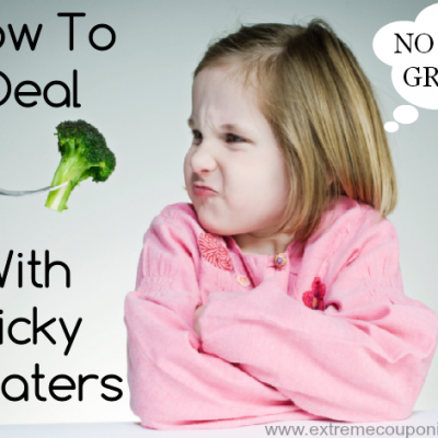Dealing With Picky Eaters Can Be A Tricky Situation