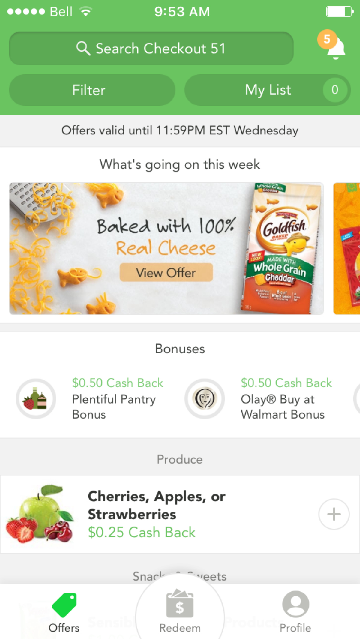 Earn Cash Back With Checkout 51