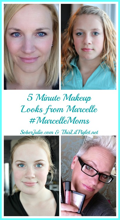 5 Minute Makeup Looks From Marcelle & #MarcelleMoms + Enter To Win 1 Of 2 Marcelle Prize Packs Worth $160.00