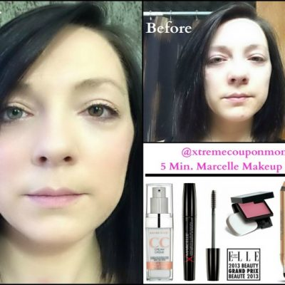 Marcelle Cosmetics: My Marcelle 5 Minute Makeup Look