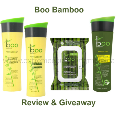Boo Bamboo Hair Care, Body Care & Face Care Review & Giveaway