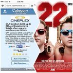 Spot The Partner & Save With CAARewards, A Night Out At The Movies