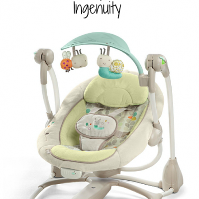 Ingenuity's ConvertMe Swing-2-Seat Review @Ingenuitybaby