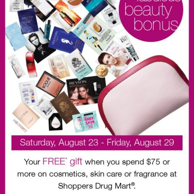 Shoppers Drug Mart's 30 Days of Beauty Event