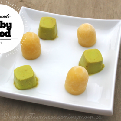 Homemade Baby Food 101: Part 1 #BabyFood101