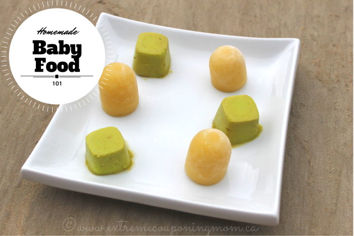 Homemade Baby Food 101: Part 1 #BabyFood101