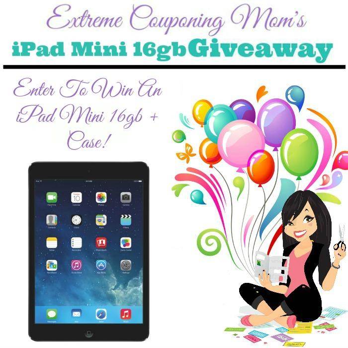 ECM's iPad Mini 16gb Giveaway