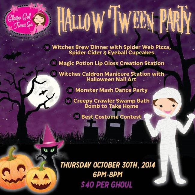 Glama Gal Hallow'Tween Party