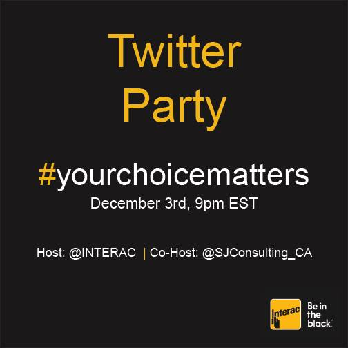 Interac Twitter Party Logo