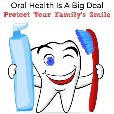 Oral Health Is A Big Deal, Protect Your Family's Smile #ProtectUrSmile