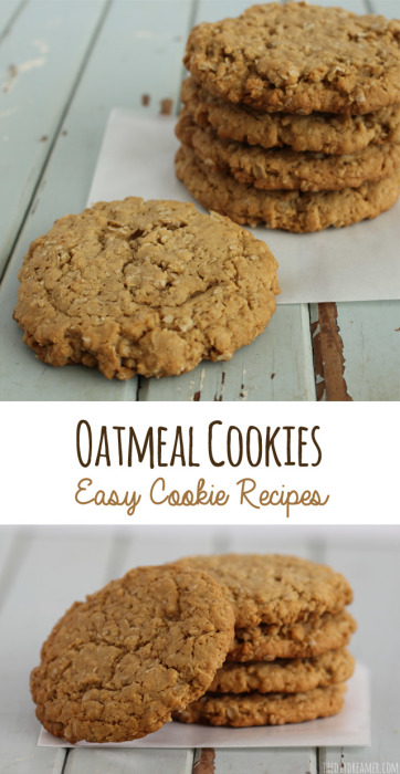 Chewy Oatmeal Cookies | The DIY Dreamer