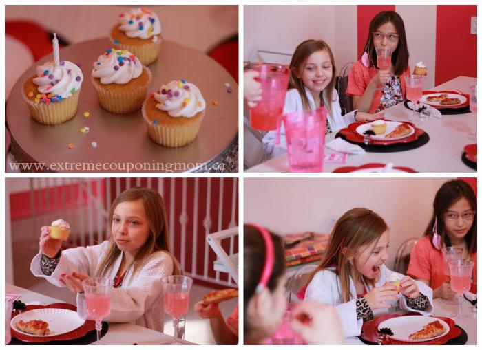 Glama Gal Tween Spa Cupcakes