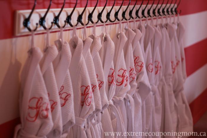 Glama Gal Tween Spa Robes