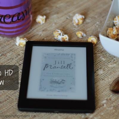 Read Anywhere: The New Kobo Glo HD Review + Giveaway #KoboGloHD