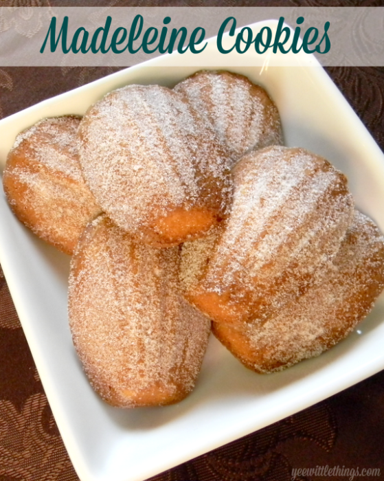 Madeleine Cookies | Yee Wittle Things