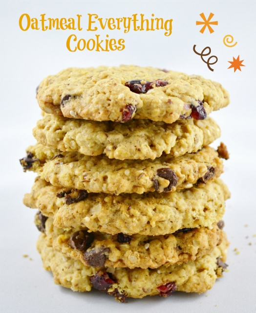 Oatmeal Everything Cookies | Woman In Real Life