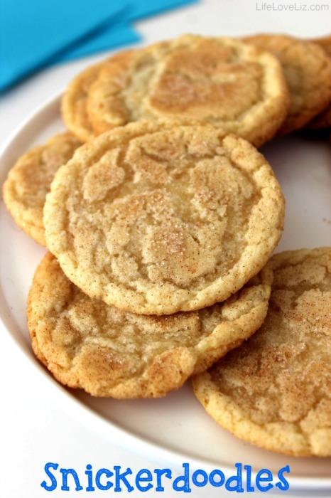 Snickerdoodles Cookies | Life Love Liz