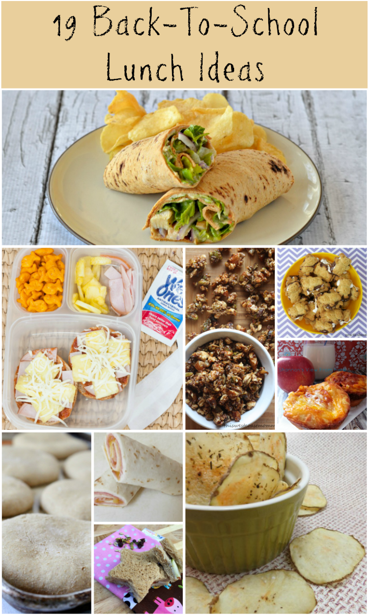 19 Back To School Lunch Ideas