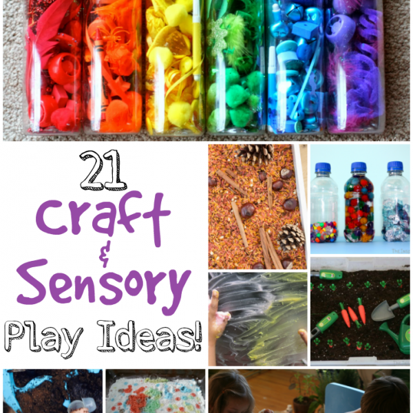 21 Craft & Sensory Play Ideas For Babies & Toddlers