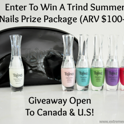 Trind Summer Inspired Nails & Tips + Giveaway #TrindNailTips