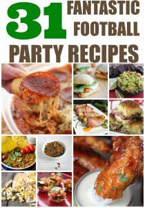 31 Fantastic Football Party Food Recipes
