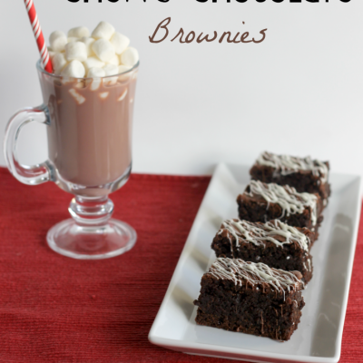 Baked From Scratch Chewy Chocolate Brownies Recipe