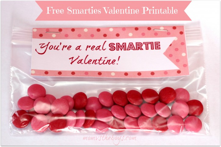 smartie valentines single text