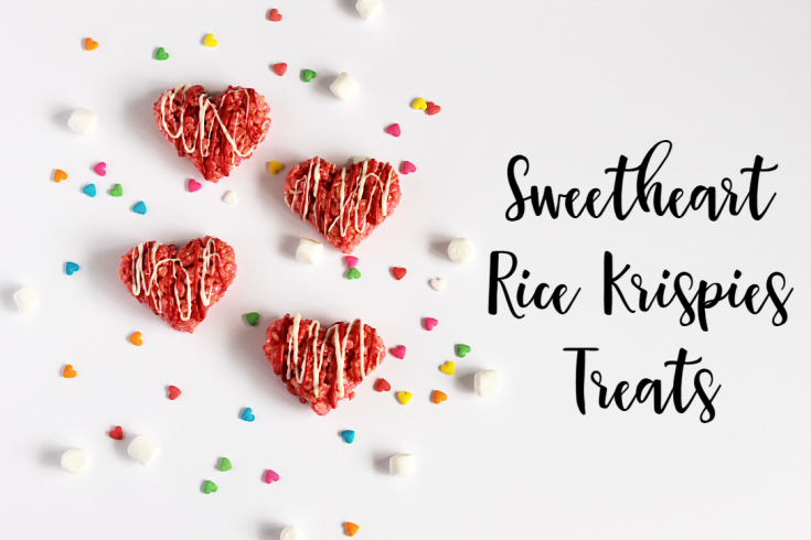 Sweetheart Rice Krispies Treats