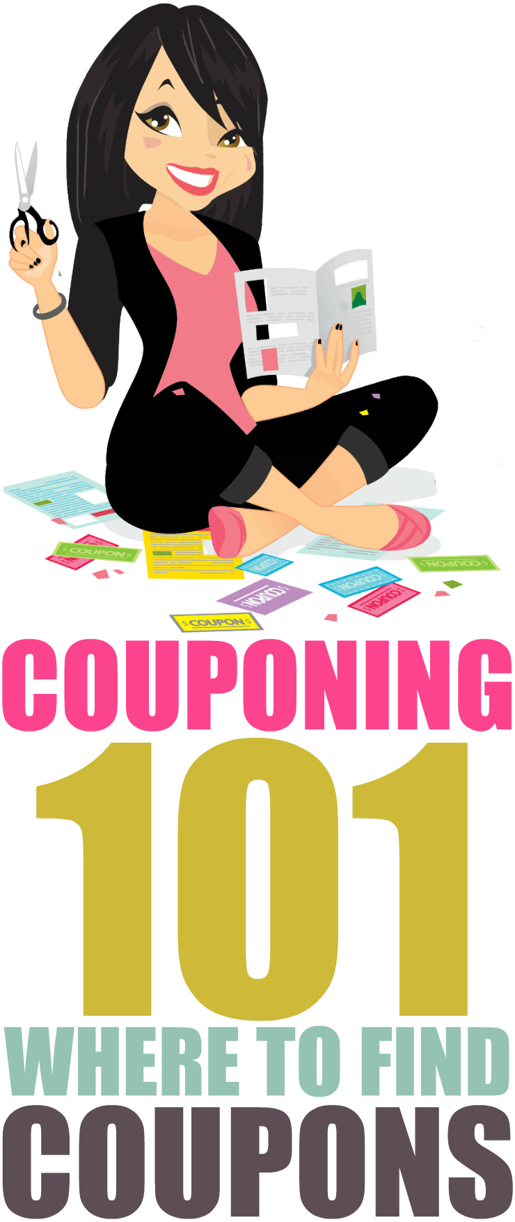 Learn how to coupon like a pro! Check out this post for a complete list of where to find coupons in Canada to cut down your grocery bill.