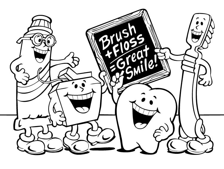 Healthy Teeth Printable For Kids