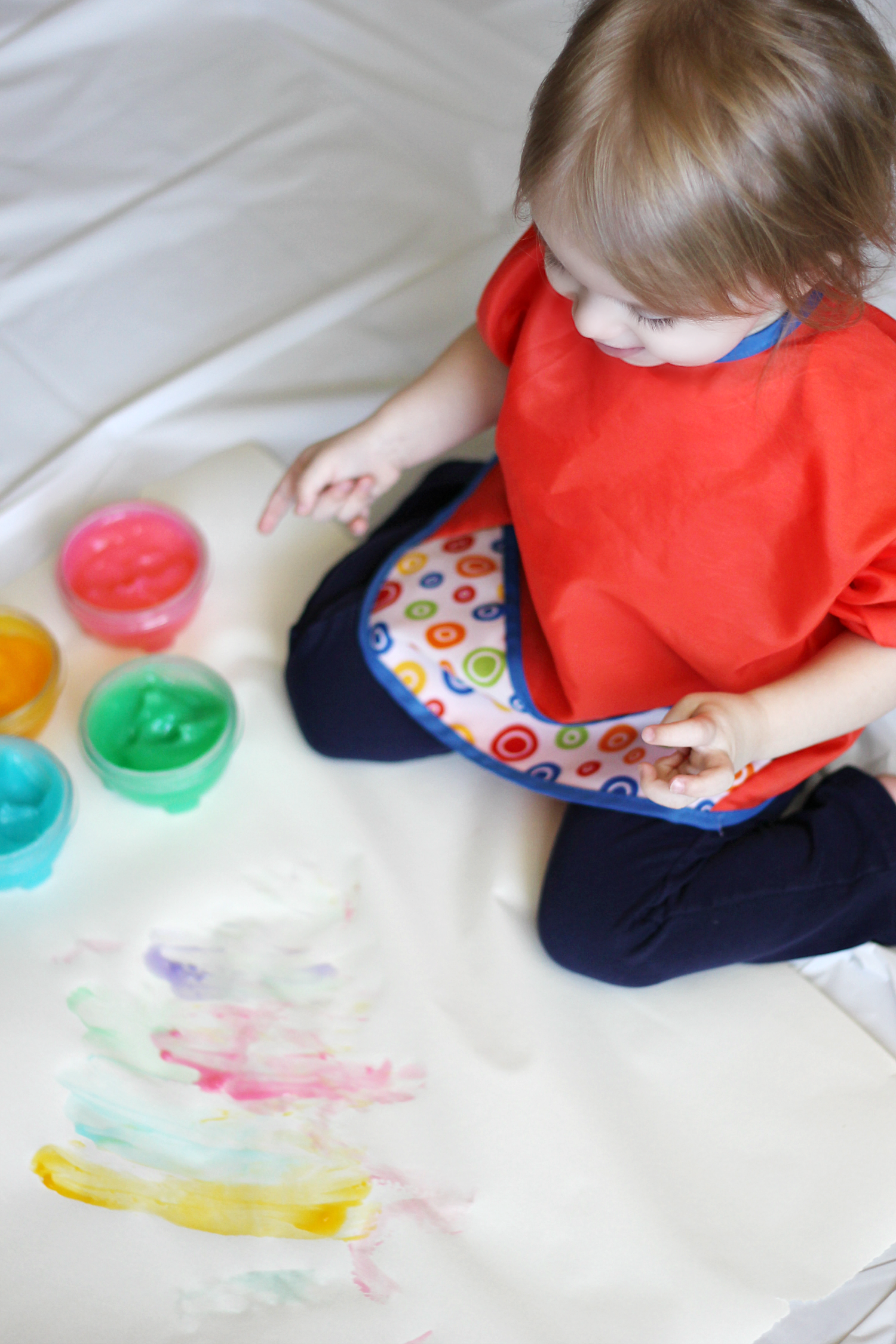 Homemade Toddler Finger Paint Extreme Couponing Mom