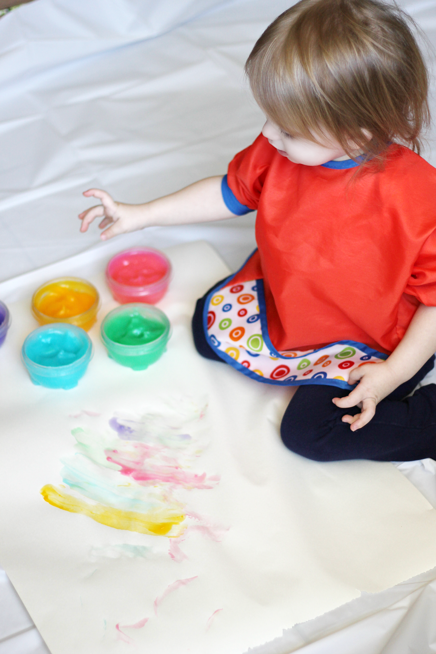 BellaHomemade Toddler Finger Paint