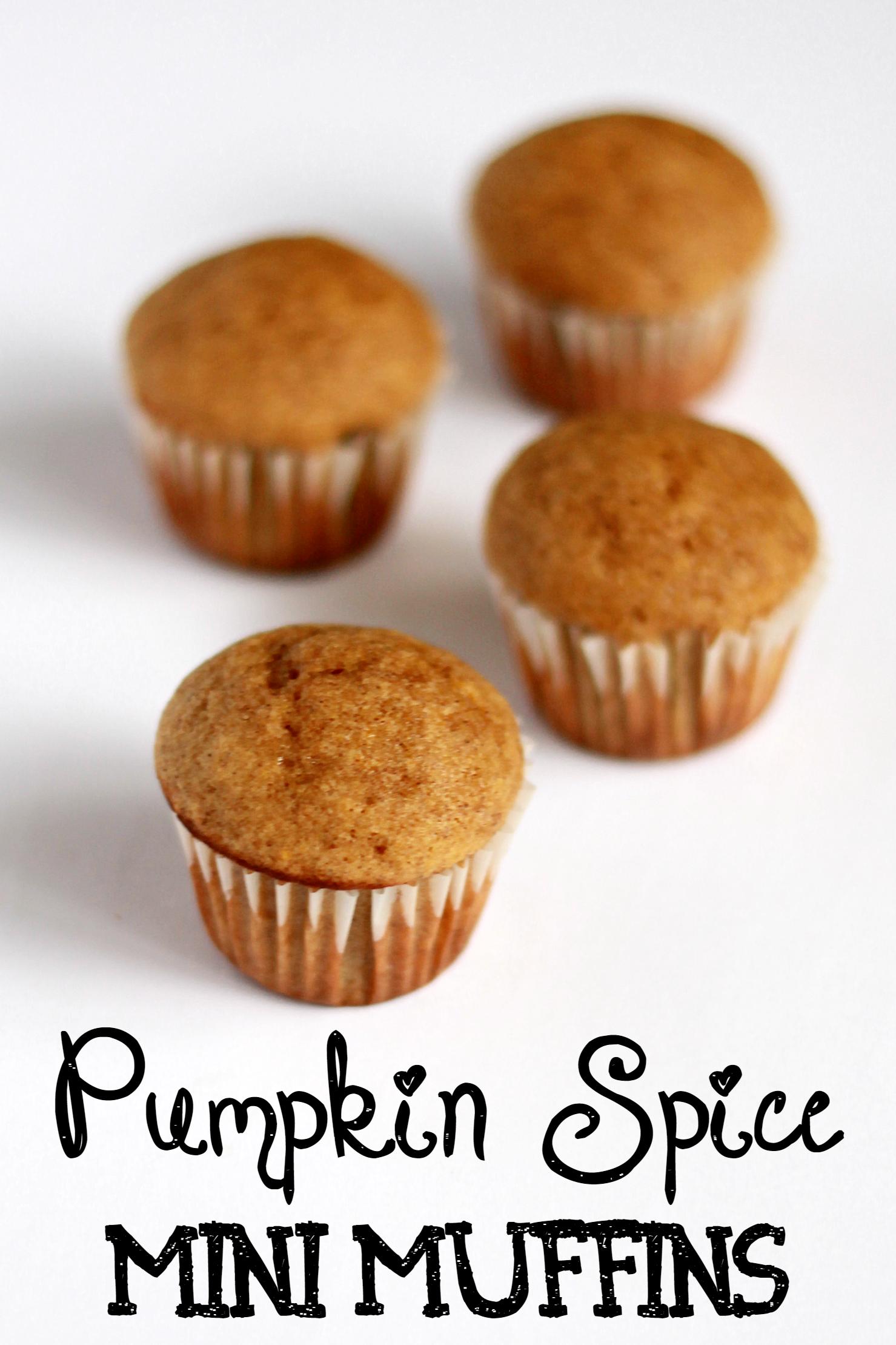 Pumpkin Spice Mini Muffins Recipe