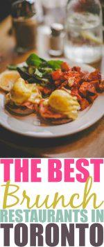 The Best Brunch Spots In Toronto