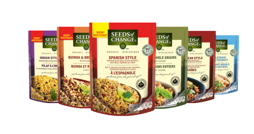 Seeds Of Change Flavours