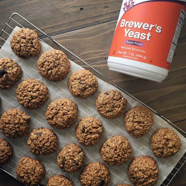 Oatmeal Raisin Lactation Cookies