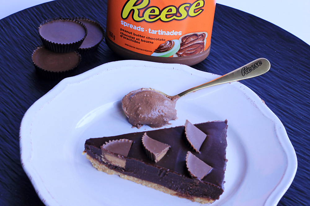 REESE Spreads Peanut Butter Chocolate Tart