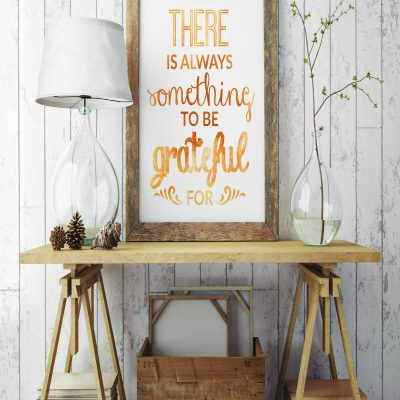 FREE Printable Thanksgiving Decor