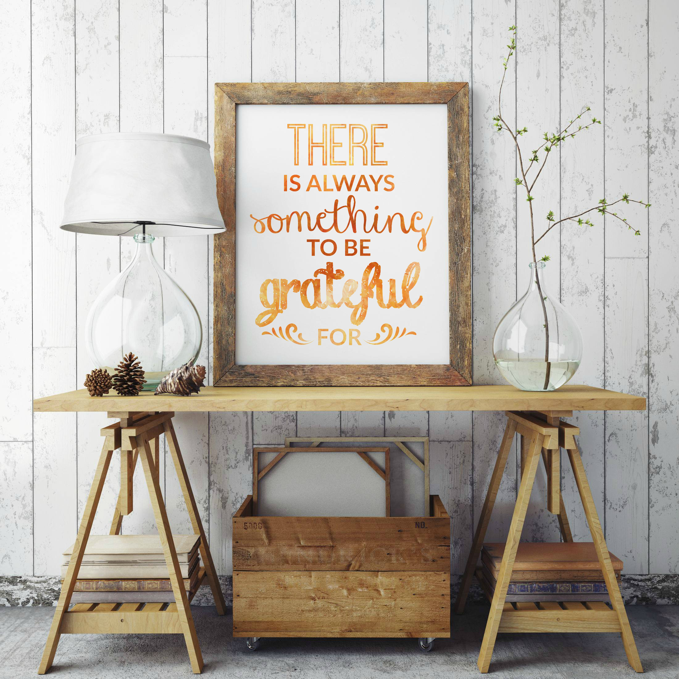 THANKSGIVING DECOR FREE PRINTABLE