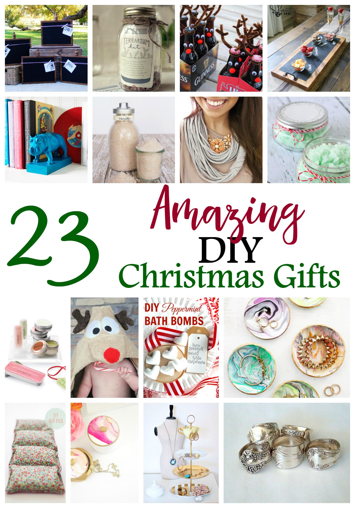 23 DIY Christmas Gifts