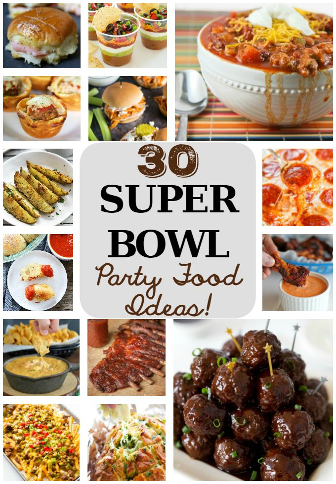 30 Super Bowl Party Food Ideas_PIN