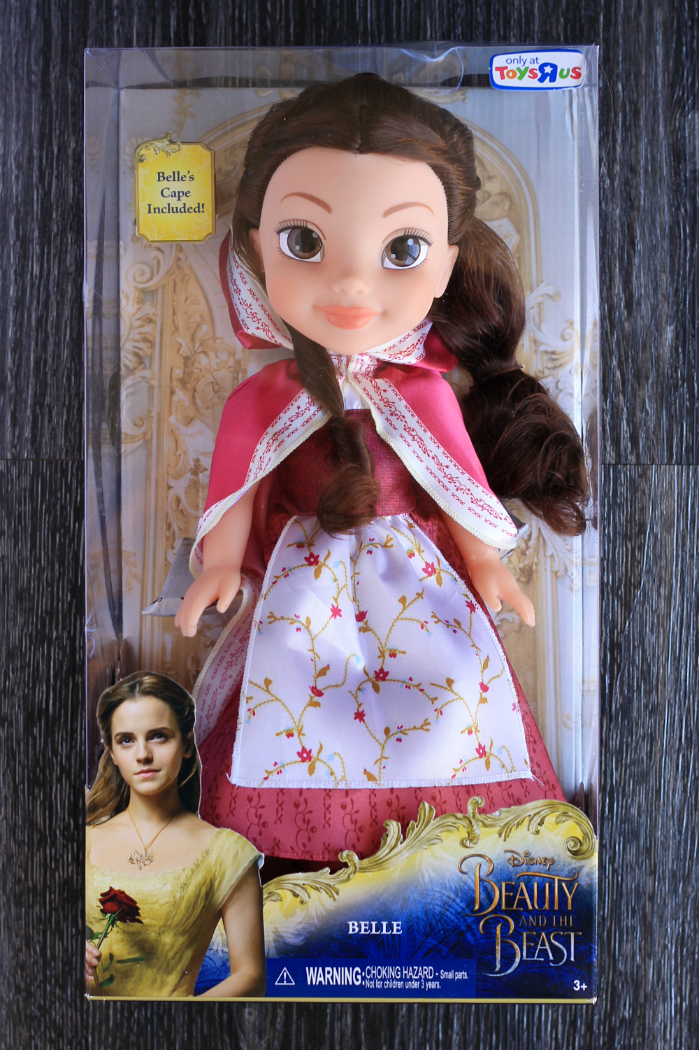 Disney's Beauty and the Beast Belle Red DressCape Doll