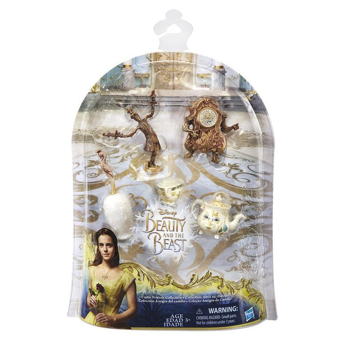 Disney's Beauty and the Beast Castle Friends Collection