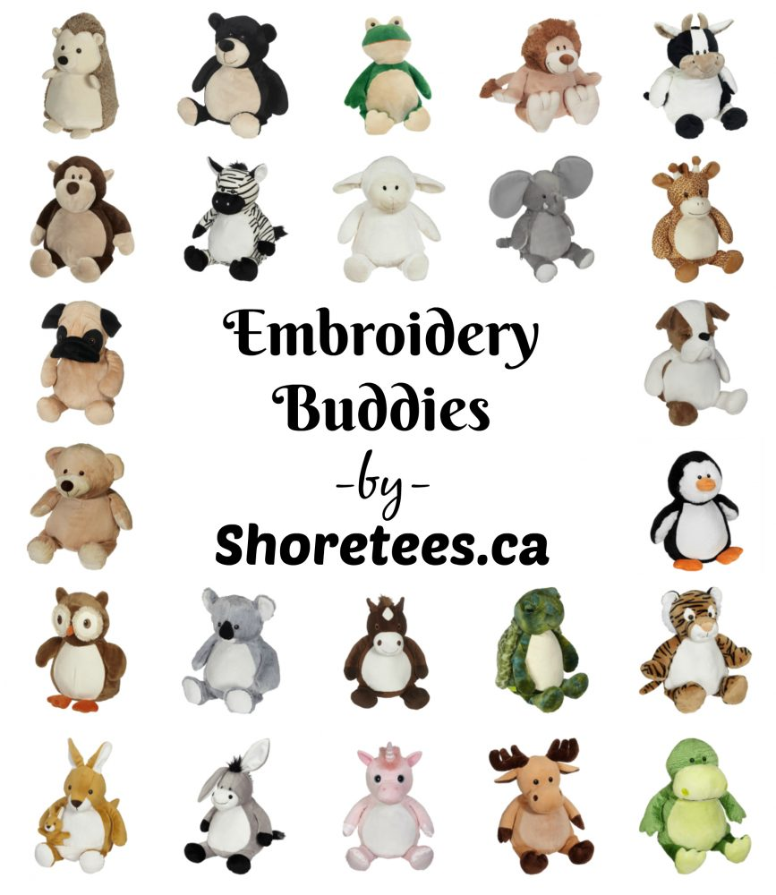 Embroidery Buddies By Shoretees