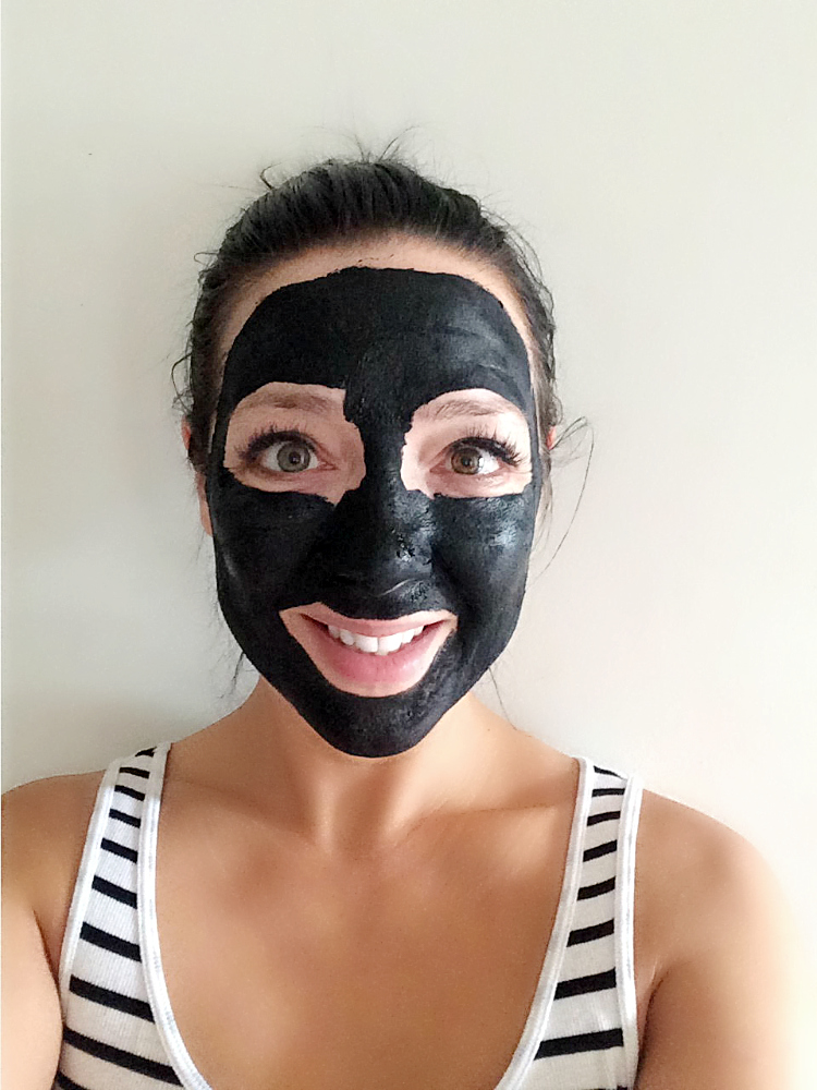 Wash Off DIY Charcoal Face Mask