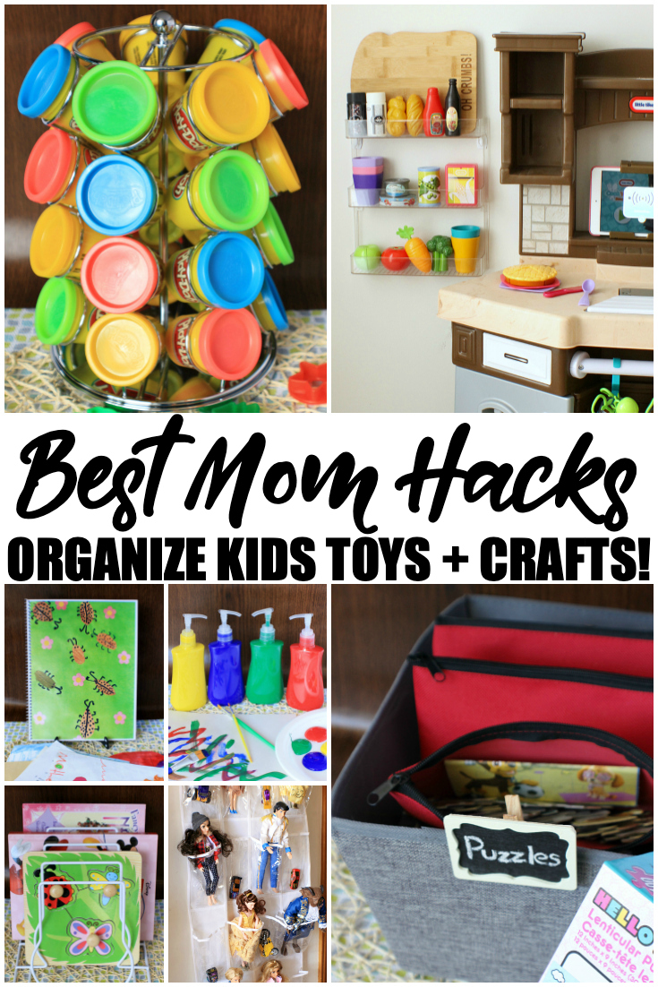 Amazing Mom Hacks To Organize Your Child S Toys And Crafts