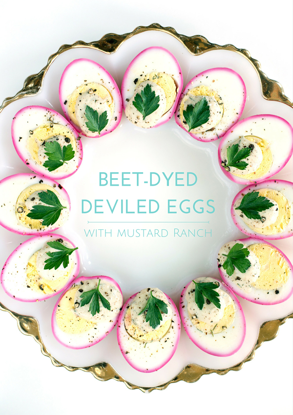 Beet-Dyed-Deviled-Eggs-Recipe-Mustard