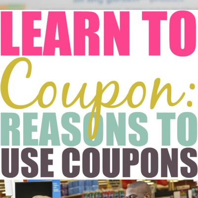 Couponing 101: Reasons To Use Coupons