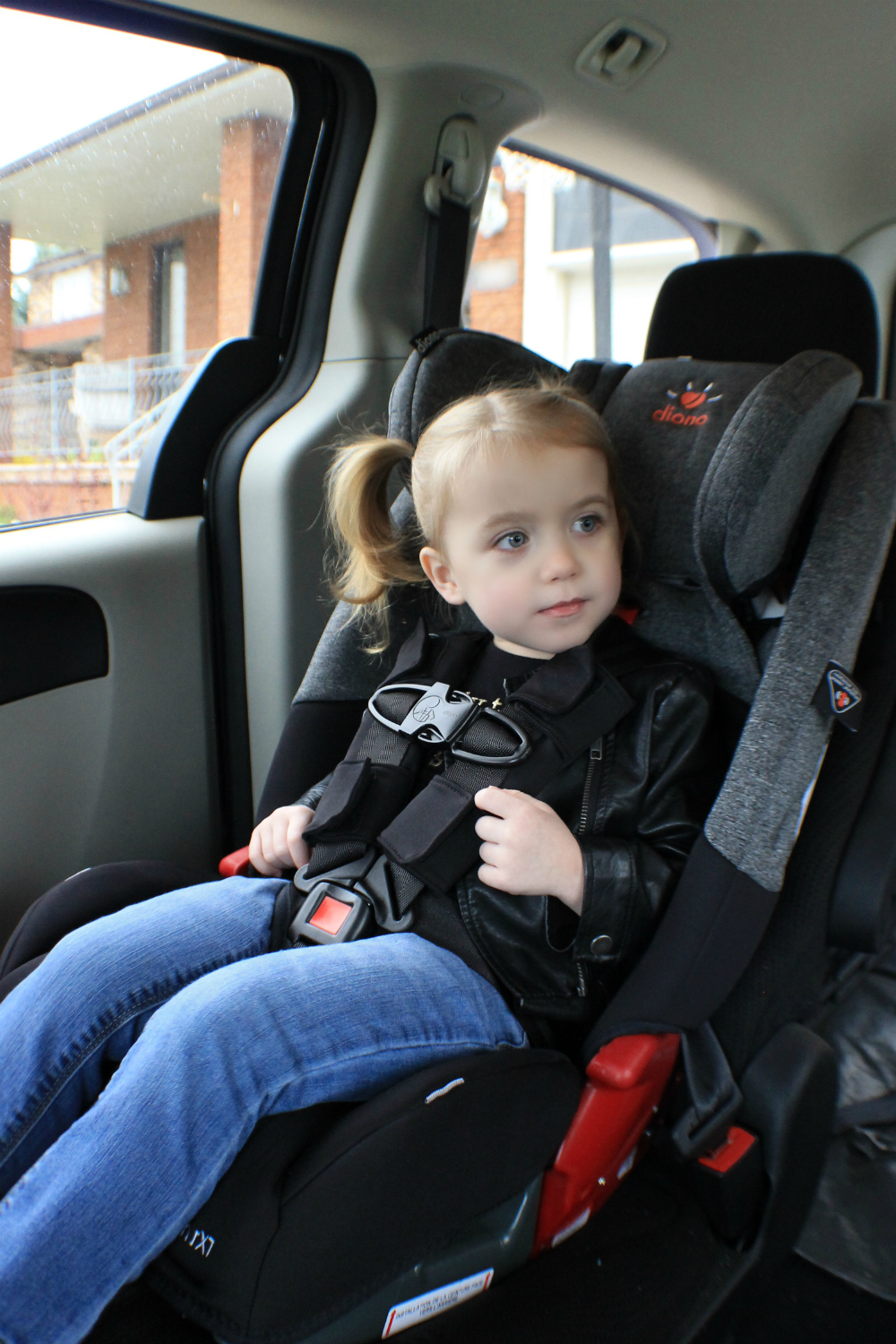 Unlike Our Previous Car Seat The Diono Radian RXT Has Superior Comfort I Can Already Tell That Straps Are Not Digging Into Her And She Is